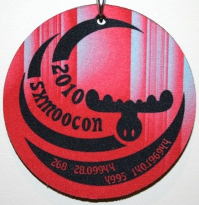 ShmooCon 2010 Badge