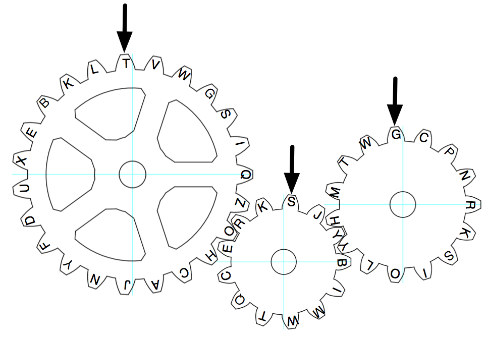 Terrible image inside gears printable